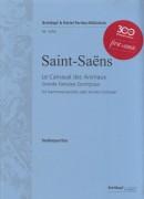 Saint-Saens, C. : Carnevale degli animali. Partitura tascabile. Urtext