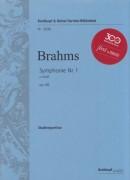 Brahms, J. : Sinfonia n. 1 in do minore op. 68. Partitura tascabile. Urtext