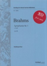 Brahms, J. : Sinfonia n. 1 in do minore op. 68. Partitura tascabile. Urtext