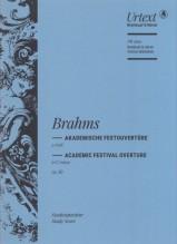Brahms, J. : Academic Festival Overture. Partitura tascabile. Urtext