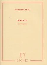 Poulenc, Francis : Sonata per 2 Pianoforti
