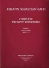 Bach, J.S. : Complete Trumpet Repertoire: vol. 1, Sacred Cantatas BWV 5-77 (Güttler, Ludwig)