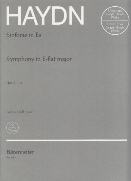 Haydn, J. : SINFONIA N. 103, partitura. Urtext