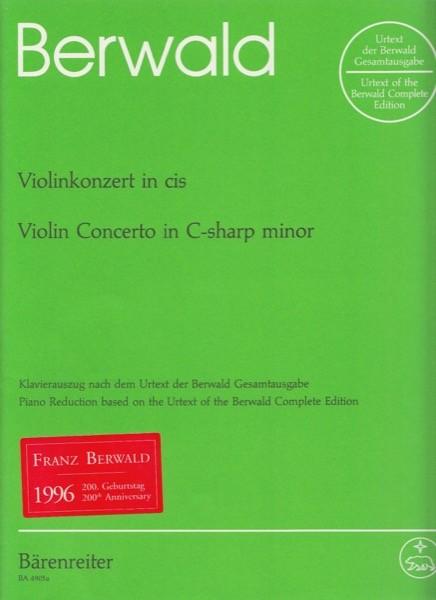 Berwald, Franz : Concerto per Violino, riduzione per Violino e Pianoforte. Urtext