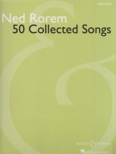 Rorem, N. : 50 Collected Songs, for High Voice