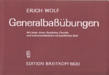 Wolf, E. : Exercises for Thorough-bass