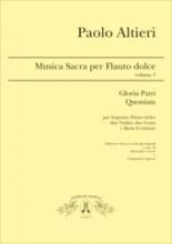 Altieri, P. : Musica per Flauto dolce, vol. 1. Per Soprano, Flauto dolce, 2 Violini, 2 Corni e Basso Continuo, a cura di A. Loreto e G. Capuzzo