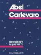 Carlevaro, A. : Microestudios nn. 1-5, per Chitarra
