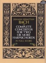 Bach, J.S. : Concerti per 2, 3, 4 Clavicembali. Partitura