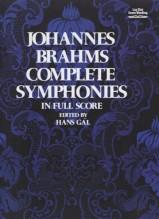 Brahms, J. : Complete Symphonies. Partitura