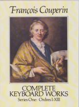 Couperin, F. : Opera completa per tastiera, Serie I: Ordres I-XIII