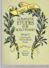 Liszt, F. : Studi per Pianoforte, Vol. I