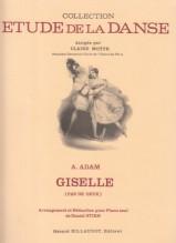 Adam, Adolphe : Giselle, pas de deux, pour Piano