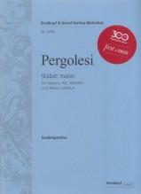 Pergolesi, G.B. : Stabat Mater per Soprano, Contralto, Archi e Basso continuo. Partitura tascabile. Urtext