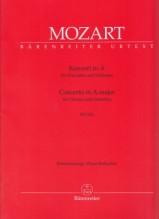 Mozart, Wolfgang Amadeus : Concerto K 622, per Clarinetto e Orchestra. Riduzione per Clarinetto e Pianoforte. Urtext