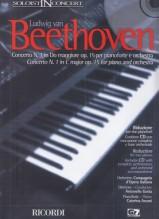 Beethoven, L. van : Concerto n. 1 in Do maggiore per Pianoforte e Orchestra, riduzione per 2 Pianoforti + CD