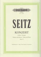 Seitz, F. : Concerto in re op. 22, per Violino e Pianoforte
