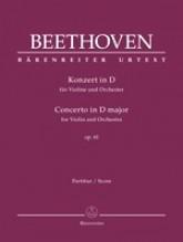 Beethoven, L. van : Concerto op. 61 per Violino e Orchestra. Partitura. Urtext