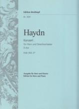 Haydn, Franz Josef : Concerto Hob VIId:3* in re, per Corno e Pianoforte