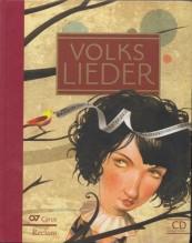 AA.VV. : Volkslieder, per canto + CD