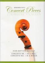 Accolay, J.B. : Concerto n. 1 in la minore, per Violino e Pianoforte