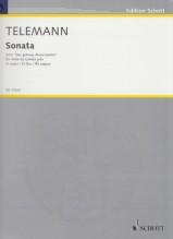 Telemann, G.Ph. : Sonata in re da Der getreue Musicmeister, per Viola da gamba