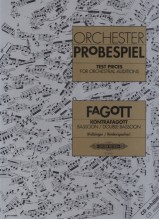 AA.VV. : Test Pieces for Orchestral Auditions: Fagott