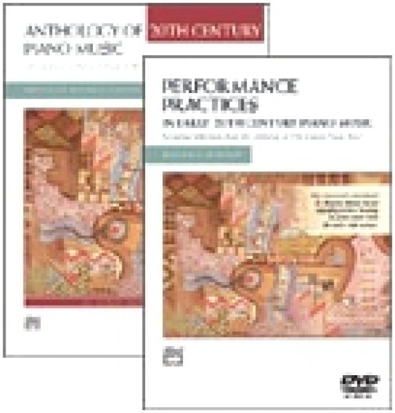 AA.VV. : Anthology of 20th Centyry Piano Music. Ed. Maurice Hinson + DVD