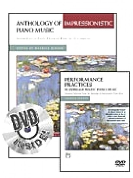 AA.VV. : Anthology of Impressionistic Piano Music. Ed. Maurice Hinson + DVD