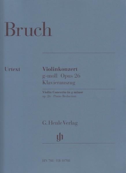 Bruch, M. : Concerto n. 1 in sol minore op. 26, riduzione per Violino e Pianoforte. Urtext