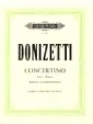Donizetti, Gaetano : Concertino per Clarinetto e Orchestra da camera. Riduzione per Clarinetto e Pianoforte