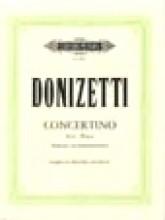 Donizetti, G. : Concertino per Clarinetto e Orchestra da camera. Riduzione per Clarinetto e Pianoforte
