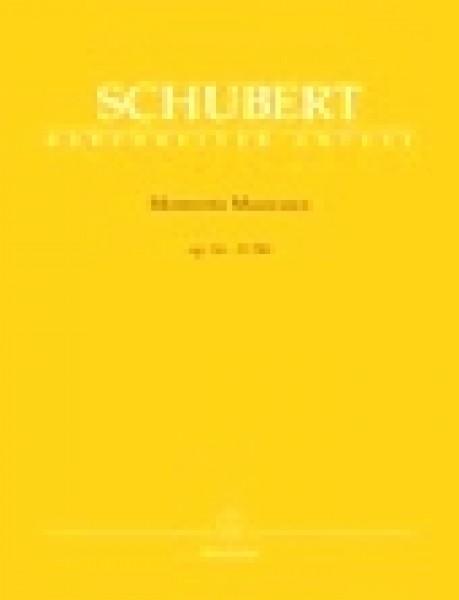 Schubert, F. : Momenti musicali, per Pianoforte. Urtext