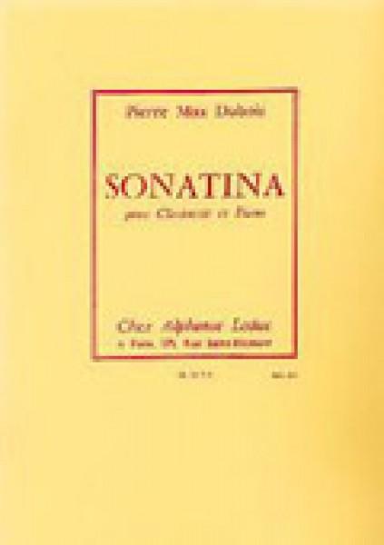 Dubois, P.M. : Sonatina, per Clarinette in sib e Pianoforte