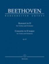 Beethoven, L. van : Concerto op. 61 per Violino e Orchestra. Partitura tascabile. Urtext