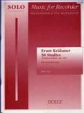 Krähmer, E. : 50 Studies (Csakan-Schule, op. 31), for Recorder solo