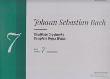 Bach, J.S. : Composizioni per Organo, vol. VII. Urtext