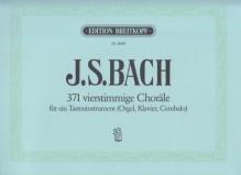 Bach, J.S. : 371 Corali a 4 voci per strumento a Tastiera