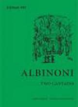 Albinoni, T. : 2 Cantatas for Alto and Basso continuo. Editor Michael Talbot