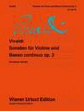 Vivaldi, A. : Sonate op. 2, per Violino e Basso continuo. Urtext