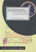AA.VV. : Fonti della musica sacra. Testi e incisioni discografiche