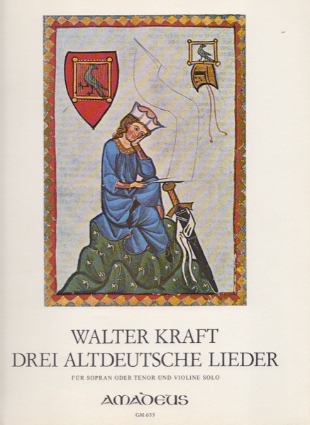 Kraft, W. : Three old German songs, per Soprano o Tenore e Violino