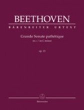Beethoven, L. van : Sonata op. 13 in do minore, Grande Sonate Pathétique, per Pianoforte. Urtext