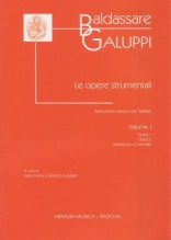 Galuppi, B. : Musica per Tastiera, vol. I