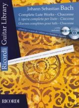 Bach, J.S. : L'opera completa per Liuto, trascrizione per Chitarra