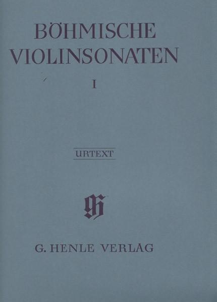 AA.VV. : Bohemian Violin Sonatas, per Violino e Pianoforte. Urtext