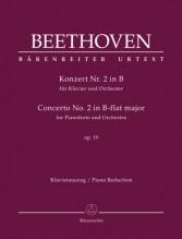 Beethoven, L. van : Concerto n. 2 op. 19 per Pianoforte e Orchestra, riduzione per 2 Pianoforti. Urtext