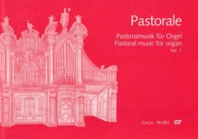AA.VV. : Pastorale. Pastoral music for Organ, vol. 1