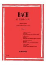 Bach, J.S. : 19 Pezzi Facili dal Libro di Anna Magdalena, per Pianoforte (Canino)
