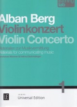 Schmidinger, H. - Wimmer, C. : Alban Berg: Violin Concerto. Listening Lab – Materials for communicating music